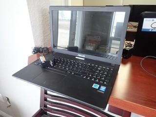 Asus X551C Laptop Computer w/ Powercord. **NOTE: NO HARDDRIVE, LOCATED IN MILK RIVER**