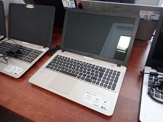 Asus X541U Laptop Computer w/ Powercord. **NOTE: NO HARDDRIVE, LOCATED IN MILK RIVER**