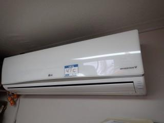 LG Inverter V LSN181HSV2 Air Conditioner w/ LG LSU181HSV2 Condenser. ** MANUAL LOCATED AT AUCTION OFFICE, LOCATED IN MILK RIVER**