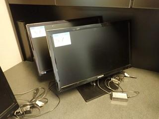 Lot of Samsung S24C570L Flatscreen Monitor and Samsung S24C350 Flatscreen Monitor. **LOCATED IN MILK RIVER**