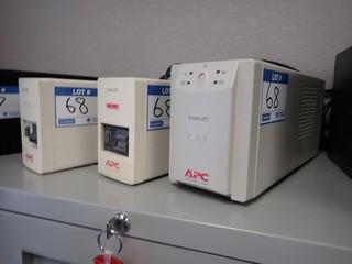 Lot of APS 400 Battery Backup UPS, APS 420 Battery Backup UPS and APS 500 Battery Backup UPS. **LOCATED IN MILK RIVER**