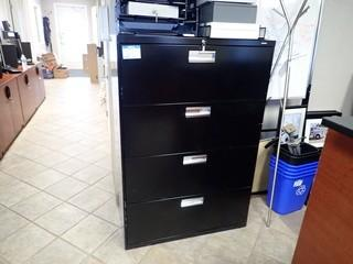 Lateral 4-Drawer File Cabinet. **LOCATED IN MILK RIVER**