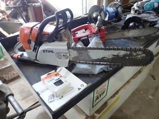 Stihl GS461 Concrete Cutting Chain Saw w/ Spare Diamond Abrasive Chain.  **LOCATED IN MILK RIVER**