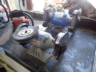 Lot of 2 Bench Grinders.  **LOCATED IN MILK RIVER**