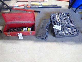 Lot of Asst. Incomplete Socket Sets and Westward Combination Ratchet/Wrench Set. **LOCATED IN MILK RIVER**