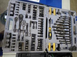 Westward Combination Wrench, Socket and Driver Set. **LOCATED IN MILK RIVER**