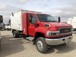 2005 GMC C5500 S/A 4x4 Steamer Truck c/w 6.6L Duramax Diesel, Auto, Hotsy/Kubota Steamer. S/N 1GDE5C3295F513480