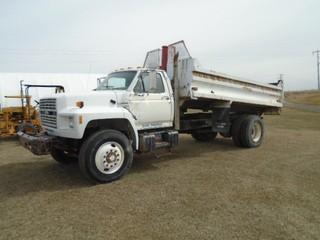 Ford F Series S/A Gravel Truck S/N 1FDXK84A7LVA25233