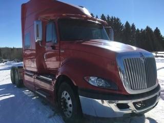 2012 International Prostar T/A Truck Tractor c/w Max Force 13, Espar Bunk Heater, Webasto Heater. S/N 3HSDJSJR1CN615778