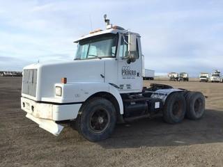 1993 Volvo GM T/A Truck Tractor c/w Cat 3306B, 13 Spd, 11R22.5 Tires. S/N 4V1JDBBE1PR818762