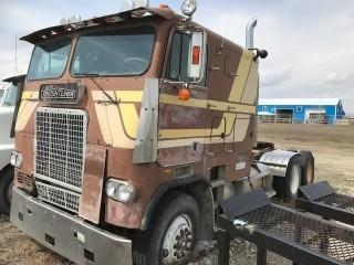 Selling Off-Site 1981 Freightliner COE Truck Tractor. Located In High River, Call Brad For Information & Viewing At 403-371-9253. S/N 2FUEYSYB8BU175573