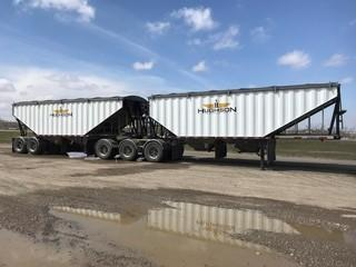 2018 Lode King Super B Grain Trailers c/w Air Ride Susp. Safety Expires Aug. 2019 Pup S/N 2LDHG3029JF064628 S/N Lead 2LDHG2838JF064627