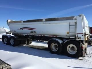 2009 Doepker 27' Quad Wagon c/w Air Ride Susp., 11R24.5 Tires. S/N 2DEGEDA4691024344