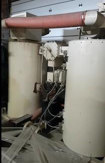 "90's Novatec ""MPC-1250"" Desiccant Dryer System, S/N 3-8394-1059, w/ Hopper"