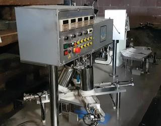 Interpack Multi Colour Powder Press, S/N 0190