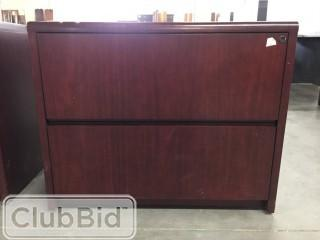 "3'x20"" 2 Drawer Filing Cabinet"