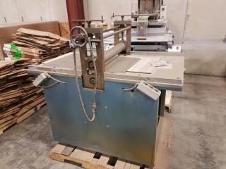 McCurdy Co. RDEC Roller Press, S/N RD9235