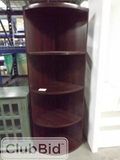 "4 Shelf Corner Unit 28""x6' Tall"