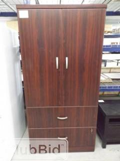"Cabinet w/2 Drawers &2 Doors 3'x20""x6' Tall"