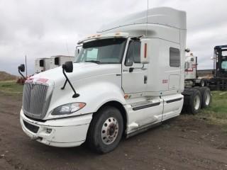 2013 International ProStar T/A Truck Tractor c/w Maxforce 450 HP, Auto, A/C, Bunk, Air Ride Susp., 11R22.5 Tires. S/N 3HSDJSJR3DN363162