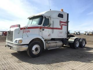2007 International 9200i T/A Truck Tractor c/w Cat C-13, 13 Spd, A/C, Bunk, Air Ride Susp., 11R22.5 Tires. S/N 2HSCESBR67C458352