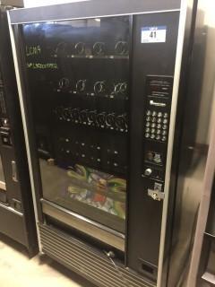 Model LCM4 (3) Drawer And (10) Slot Pop Vending Machine. SN 400008952