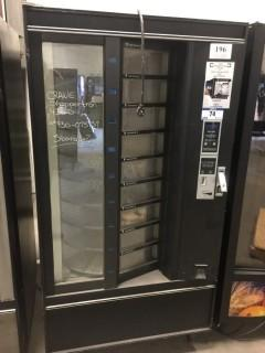 Crane/ Shoppertron Model 430D (9) Tray Turn Style Vending Machine. SN 430-075137