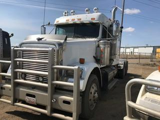 Selling Off-Site 2007 Freightliner Classic T/A Truck Tractor, Eaton Fuller 18 Speed Transmission, Chelsea PTO, 11R 24.5 Tires, 956,651 kms, 28,950  hrs, S/N 1FUJF6CK47DX13787.  Location:  339 Aquaduct Dr., Brooks, AB Call Tim For Further Information 403-968-9430.