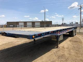 Selling Off-Site 1986 Tycorp 40' T/A Deck Trailer, 11R24.5 Tires, S/N 2T9FASHN6GA016222.  Location:  339 Aquaduct Dr., Brooks, AB Call Tim For Further Information 403-968-9430.