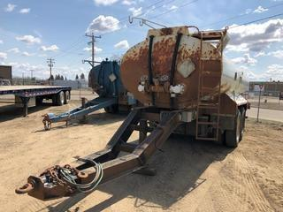 Selling Off-Site 2007 Advance 15,900 Litre T/A Pup Tank Trailer c/w 11R24.5 Tires. S/N 2AESTHBO67S000112.  Location:  339 Aquaduct Dr., Brooks, AB Call Tim For Further Information 403-968-9430.