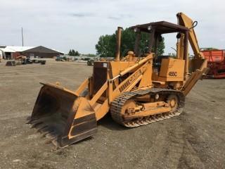 Case 455C Crawler w/ Backhoe. S/N 4255107