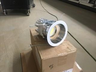 Lot of (2) Prescolite Recessed Light Fixture