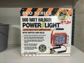 Pro Series 500 W Halogen Power Light