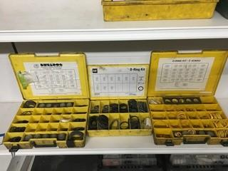 Lot of Caterpillar O-Ring and D-Ring Kits