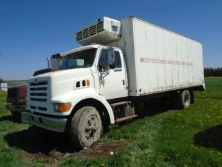 Selling Off-Site 1998 Ford Louisville S/A Van Body Truck. Requires Repair. S/N 1FDXN80F1WVA04553.  Located At Mountain View Poultry For Viewing Call John 403-813-5148.