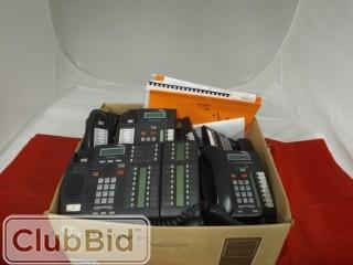 Qty of (15) Nortel Norstar ICS 6.1 Telephone Handsets and (1) Nortel Norstar ICS 6.1 Switchboard c/w Manuals