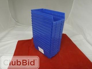 "Quantity of (15) Quantum Storage Bins 6"" x 11"""
