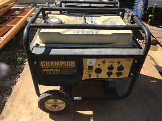 Champion Generator. SN 100105