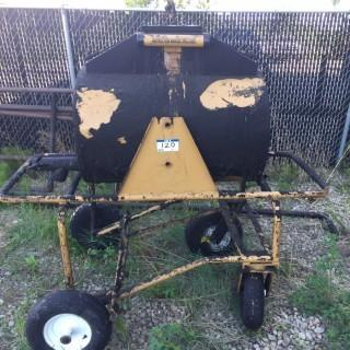 Hot Tar Carrier C/w Cart With Wheel Lock