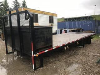 8'6 Wide X 22'6 Long Deck C/w Tool Box
