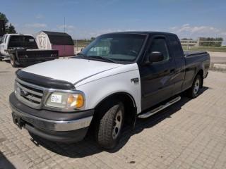2003 Ford F150 Extended Cab P/U c/w V6, Auto, A/C. Showing 95949 Kms. S/N 1FTRX17233NB91226.