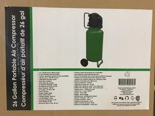Portable Air Compressor 26 Gallon