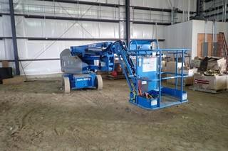 "2010 Genie ""Z40/23N"" Electric Articulated Boom Lift. Showing 444hrs. SN Z40N10-842."