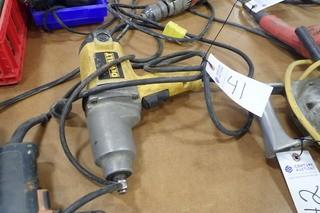 "DeWalt 1/2"" Electric Impact."