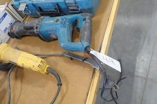 Makita Electric Reciprocating Saw.