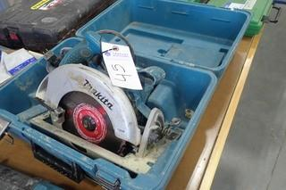 Makita Electric Circular Saw.