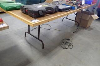 Lot of 2 Folding Tables.