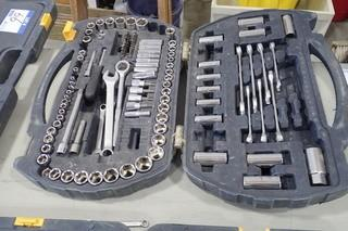 Mastercraft Socket and Combination Wrench Set.