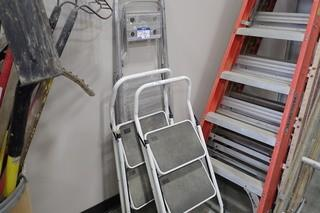 Lot of 3 Step Ladders.