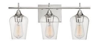 Hickerson 3-Light Vanity Light Polished Chrome